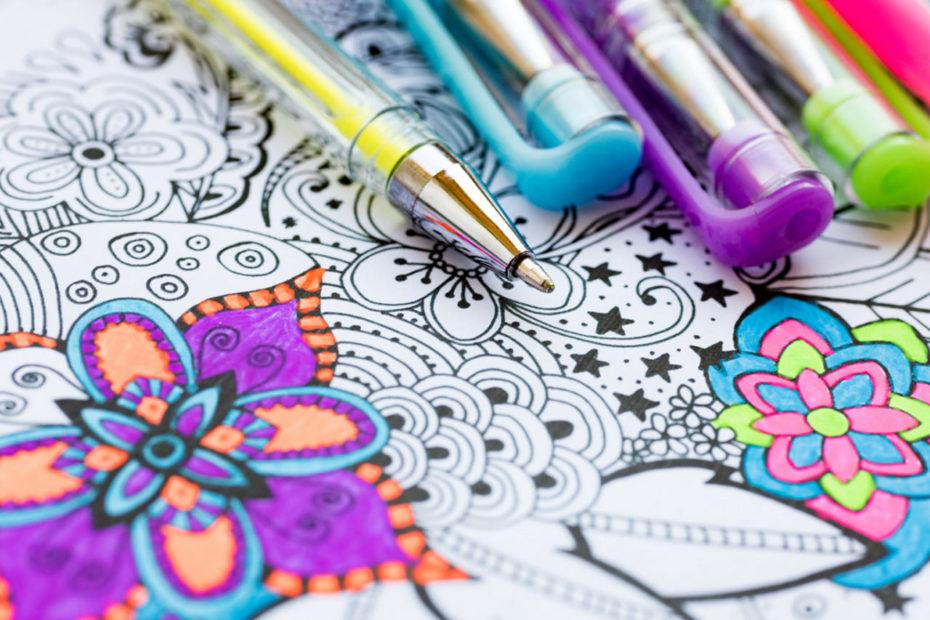 Antystresowe kolorowanki dla dorosłych