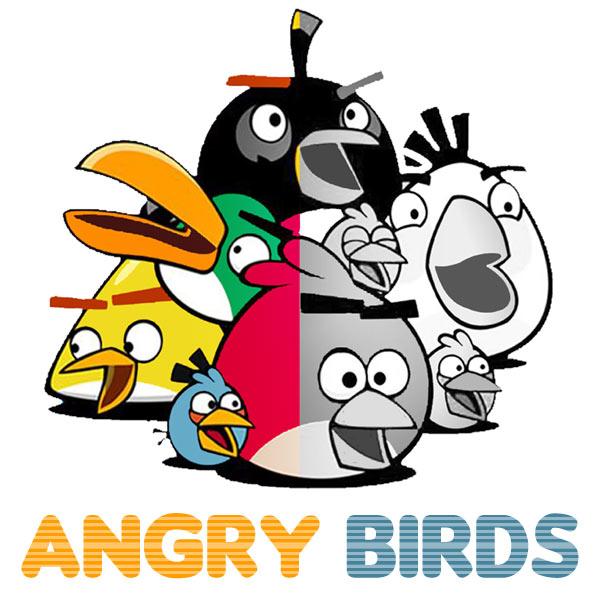 Kolorowanki Angry Birds