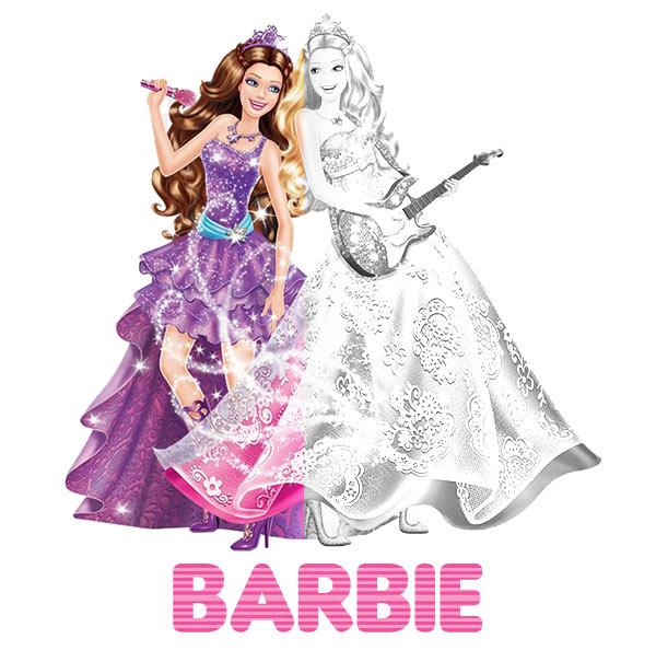 Kolorowanki Barbie