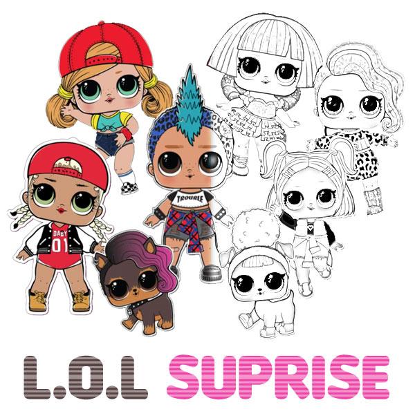 Kolorowanki L.O.L Suprise