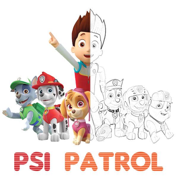 Kolorowanki Psi Patrol