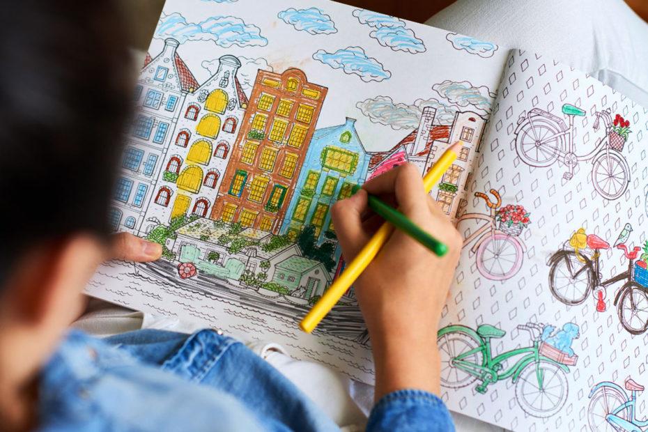Kreatywne kolorowanki dla dzieci