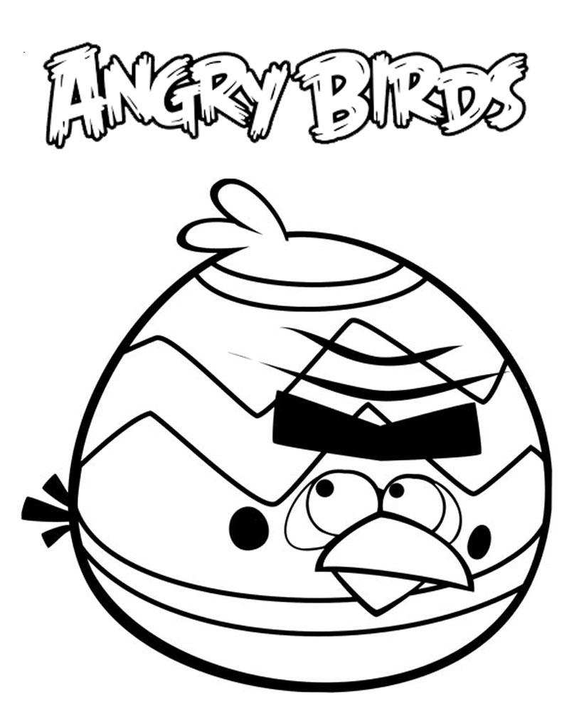 Malowanka Angry Birds
