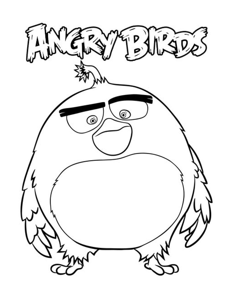 Ptaszek z bajki Angry Birds