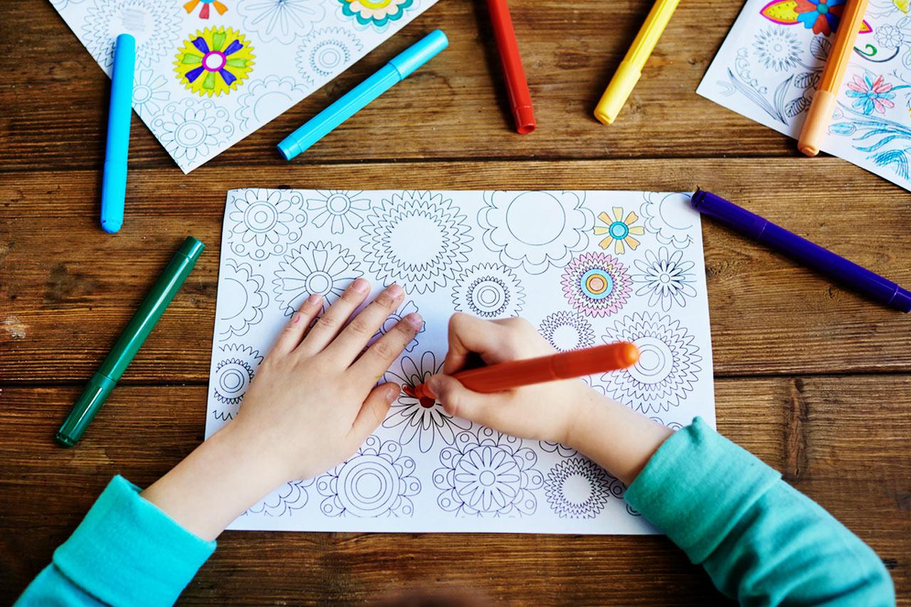 Kolorowanki dla dzieci, jakie są korzyści