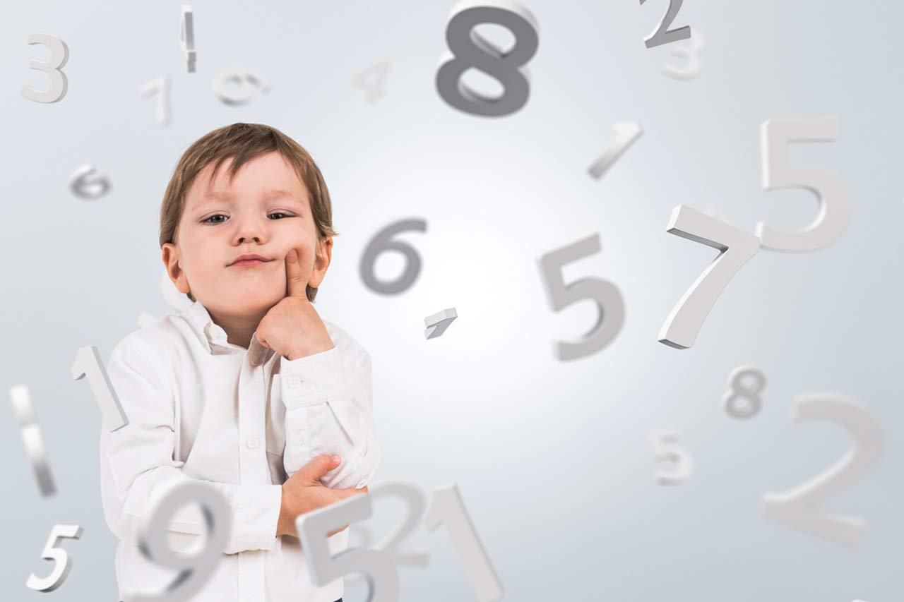 Nauka cyfr dla dzieci