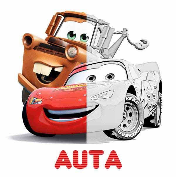 Kolorowanki Auta Cars