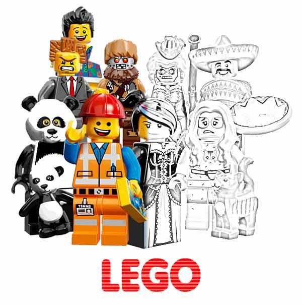 Kolorowanki Lego