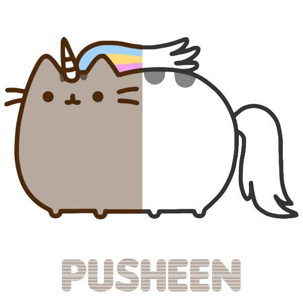 Kolorowanki Pusheen