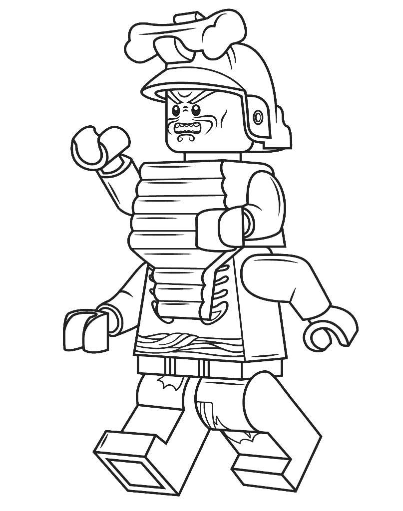 Lord Garmadon kolorowanka Lego