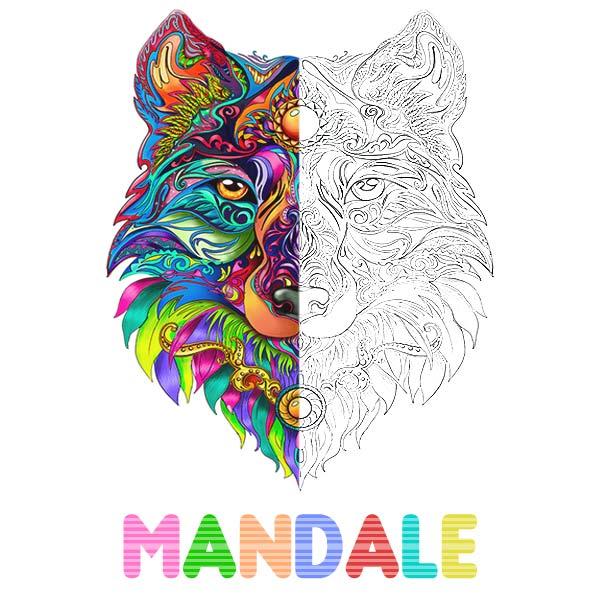 Mandale kolorowanki dla dorosłych
