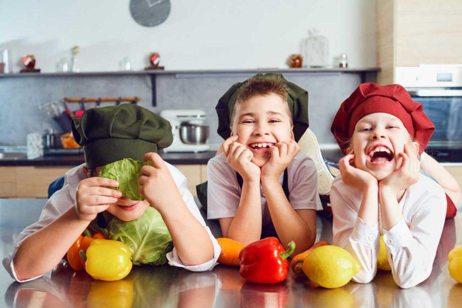 Rozrywka dla dzieci w kuchni