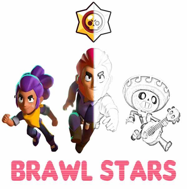 Kolorowanki Brawl Stars