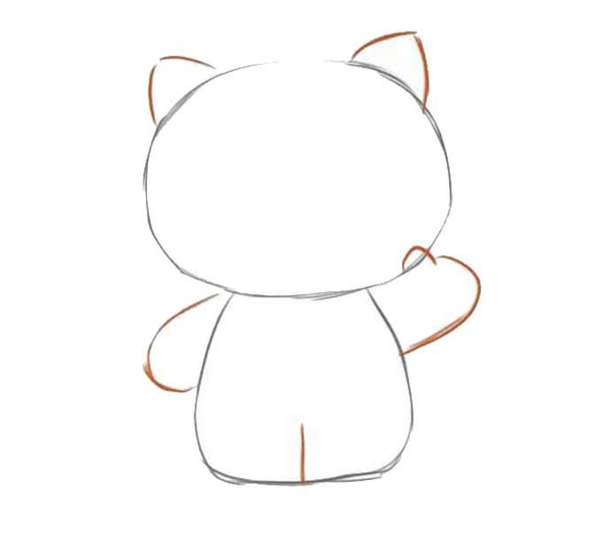 2 jak narysować hello kitty