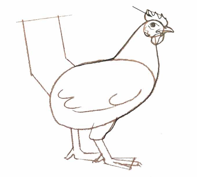 6 Rysowanie kury