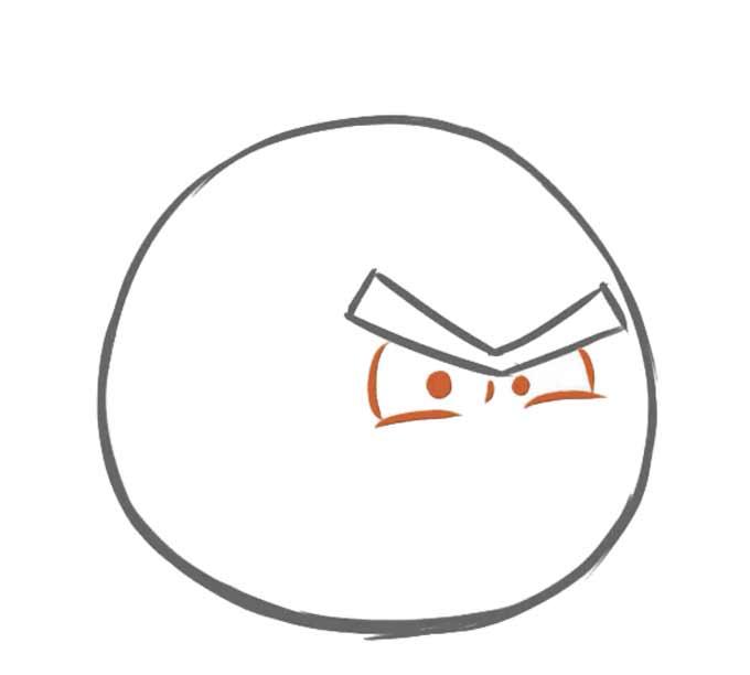 3 Jak narysować Angry Birds