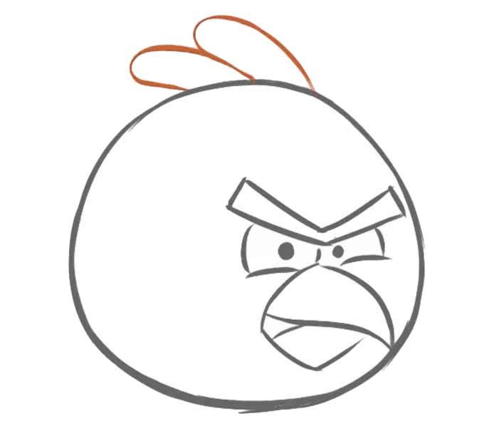 5 Jak narysować Angry Birds