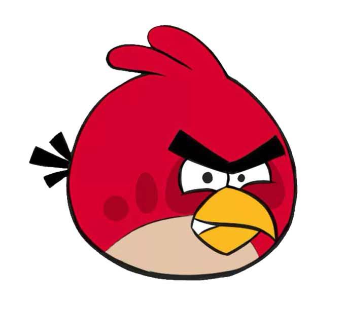 Jak narysować Angry Birds-a?